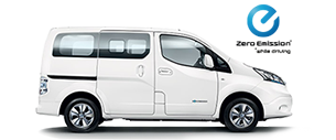 New Nissan E-NV200 COMBI at Dumpton Park Nissan