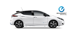 New Nissan LEAF at Dumpton Park Nissan