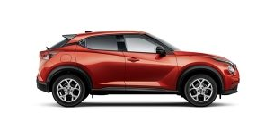 Next generation Nissan JUKE at Dumpton Park Nissan